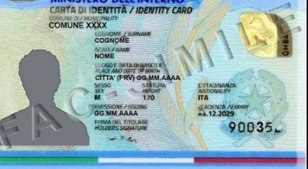 carta identità come richiederla